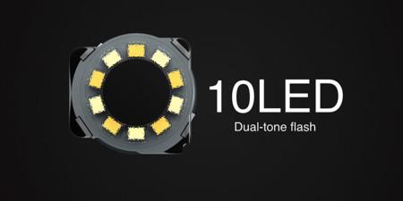 Flash 10-LED del Meizu PRO 6