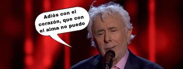 'La Voz Senior': Andrés Caparrós canta en las audiciones a ciegas y ningún 'coach' le admite en su equipo