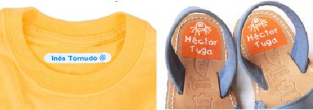 Etiquetas Para Marcar Ropa Zapatos Y Uniformes