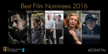 BAFTA 2016 | 'El puente de los espías' y 'Carol' lideran las nominaciones. 'Mad Max' menospreciada