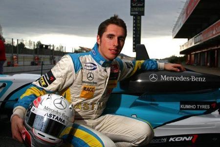 Dani Juncadella pasa a formar parte del programa de jóvenes pilotos de Mercedes