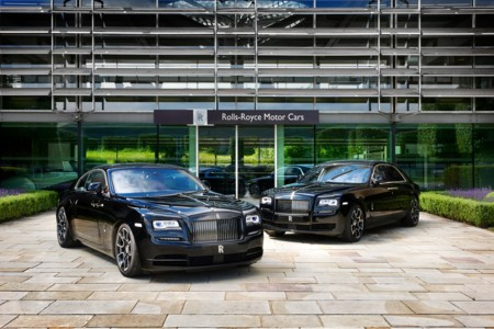 Rolls-Royce Ghost y Wraith Black Badge, todo al negro para Goodwood