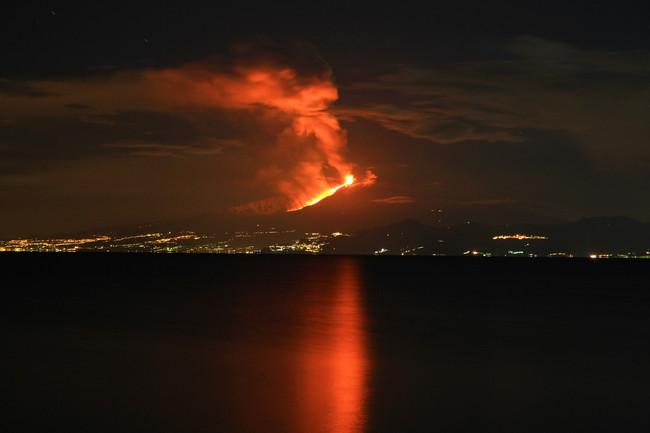 Eruzione Etna 13 01 2011 B