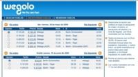Wegolo, buscador de vuelos de bajo coste
