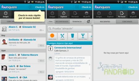 Foursquare, actualización con rediseño