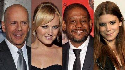 Bruce Willis, Malin Akerman, Forest Whitaker y Kate Mara en 'Catch .44'
