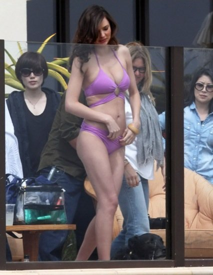 Miranda Kerr bikini malva