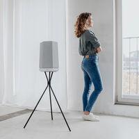Teufel estrena los altavoces Hotlist M y S: sin batería incorporada, con Alexa y con una llamativa forma hexagonal