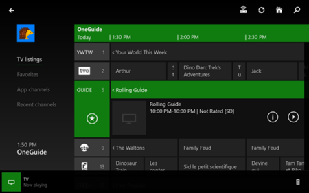 Xbox Video y SmartGlass buscan su protagonismo en la Xbox One