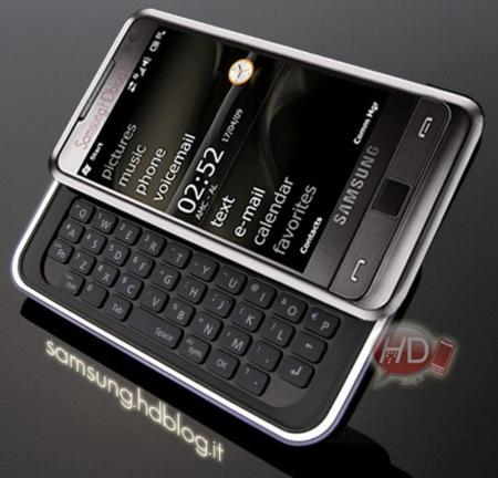 Samsung Omnia Pro añadiría un teclado QWERTY físico