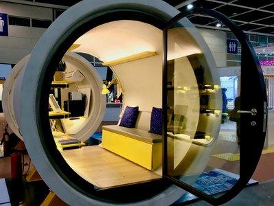 La vivienda está tan mal en Hong Kong que han diseñado una casa dentro de una tubería de hormigón