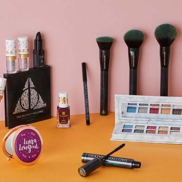 La nueva colección de maquillaje de Harry Potter en colaboración con la firma low cost Barry M es pura fantasía