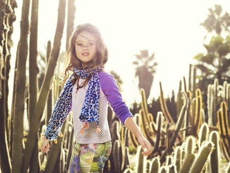 Mango kids primavera-verano 2014: nueva temporada entre cactus