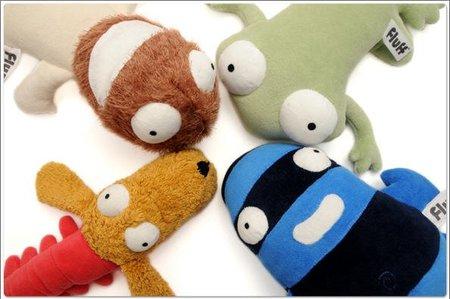 Os presentamos los muñecos de Fluff para ayudar a superar temores e inseguridades en los niños