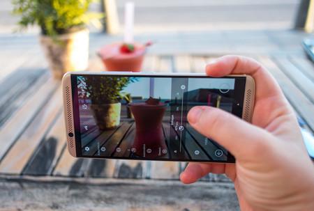 ZTE Axon 7: app de cámara