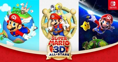 Los códigos digitales de Super Mario 3D All-Stars se podrán canjear pasado el 31 de marzo, aunque desaparezca de la eShop
