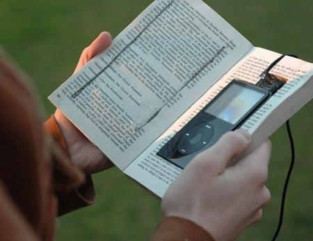 Los videolibros trasladan los libros a los reproductores portátiles