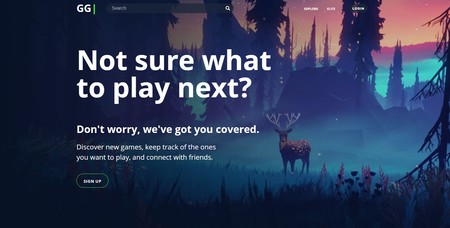 Así es GG, el Letterboxd de los videojuegos que nos permite hacer un seguimiento de los que vamos jugando