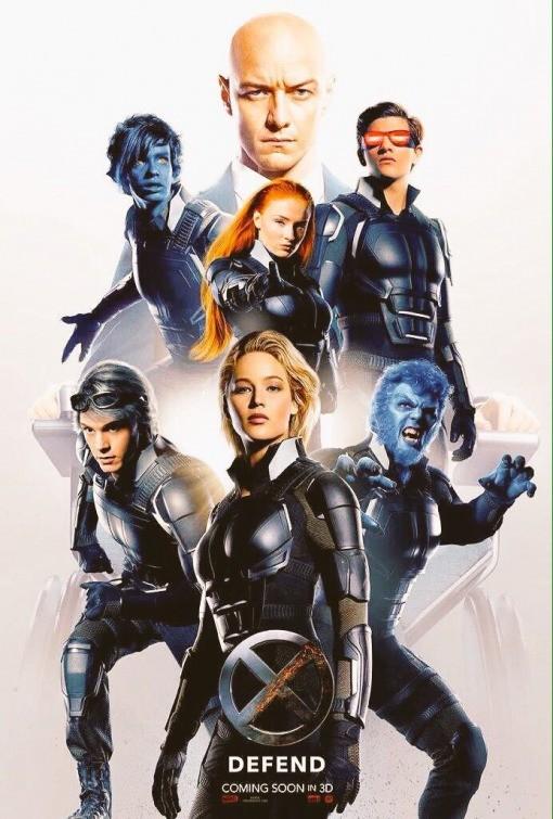 Los héroes de X-Men: Apocalipsis
