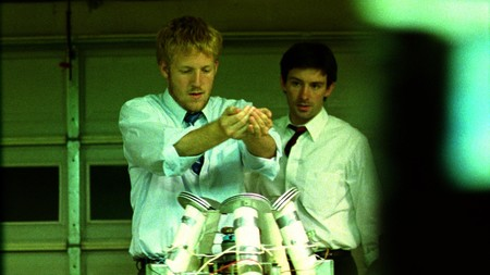 Still Of David Sullivan And Shane Carruth In Primer Large Picture