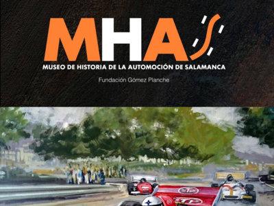 """Plan con coches: visitar el Museo de historia de la automoción de Salamanca y su exposición """"Pinturas sobre ruedas"""""""