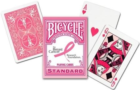 Bicycle Pink Ribbon, la baraja de póker también lucha contra el cáncer