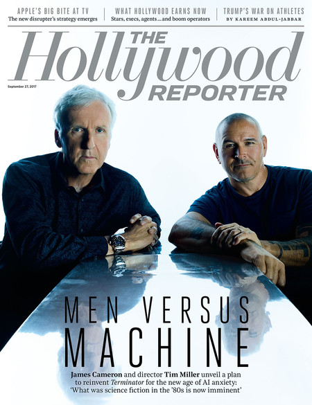 James Cameron y Tim Miller