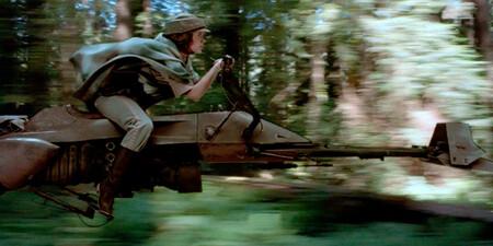 Returnofthejedi Leia Speederbike
