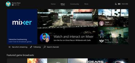 """Microsoft mejora su servicio de streaming de videojuegos al estilo Twitch, y ahora se llama """"Mixer"""""""