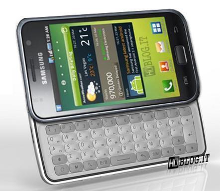 Samsung Galaxy S Pro, llegará una versión con teclado QWERTY