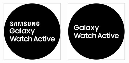 Logo Galaxy Watch Active