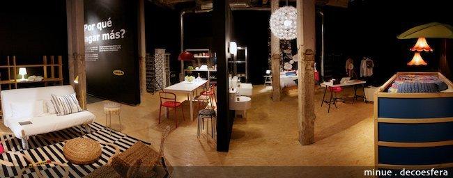 Exposición Ikea diseño democrático - vivienda