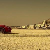 Nissan GT-R traza la silueta de La India ayudado sólo por su GPS y su potencia descomunal