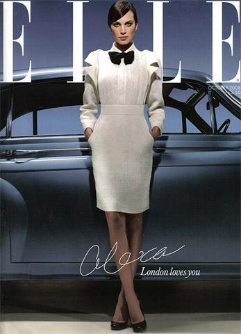 Alexa Chung en la Elle británica de octubre