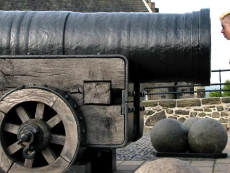 Cañón Mons Meg Castillo Edimburgo