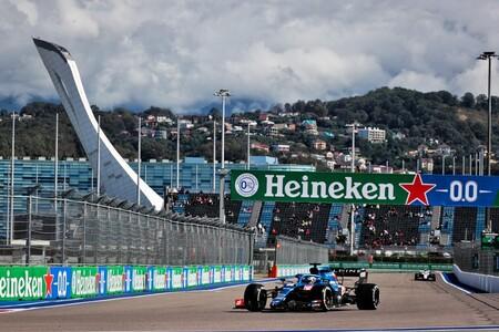 Alonso Rusia F1 2021 3