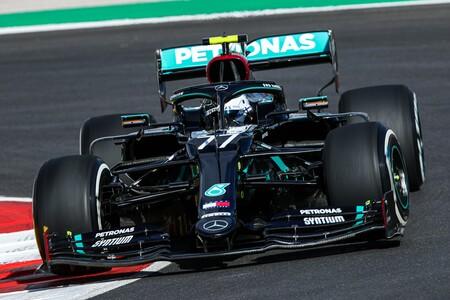 Valtteri Bottas lidera el accidentado regreso de la Fórmula 1 a Portugal en el colosal circuito de Portimao