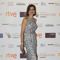 Silvia Jato, todo al plata y al gris