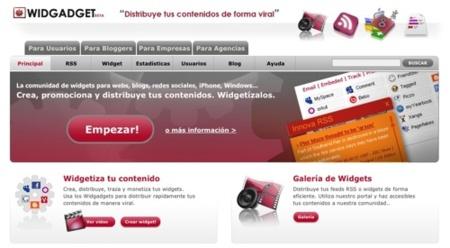 Widgadget, crea el  widget para tu sitio web