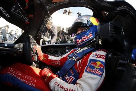 Sébastien Loeb correrá con un Ferrari F430 este fin de semana