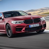 BMW M5 First Edition, un deseo ataviado de color rojo
