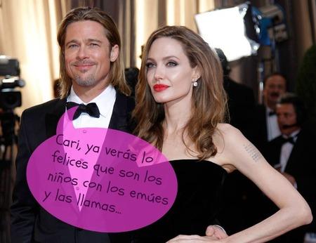 Brad Pitt y Angelina Jolie a lo Noé: llenan su casa de Francia de bichos