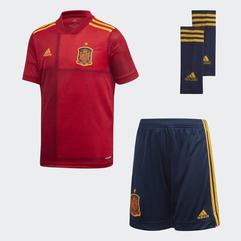 Mini conjunto de niños 1ª equipación FEF Selección Española de Fútbol 2020 Adidas