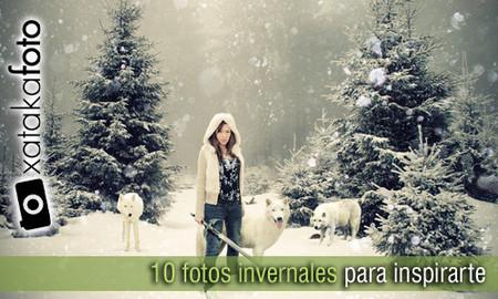 Consejos e ideas para inspirarte. 10 fotografías invernales