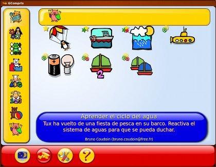 GCompris: software libre con actividades y juegos educativos para niños