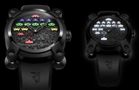 Relojes Romain Jerome inspirados en Space Invaders