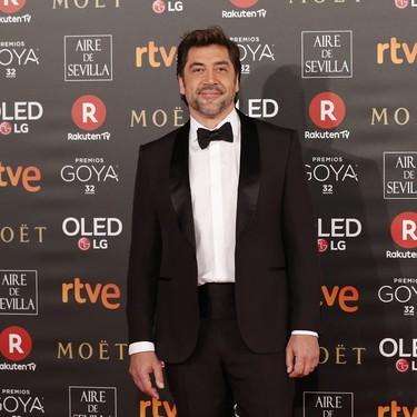Javier Bardem, uno de los más elegantes de la gala con smoking de Ermenegildo Zegna Couture