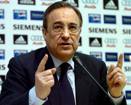 Florentino Pérez: candidato a la presidencia del Real Madrid