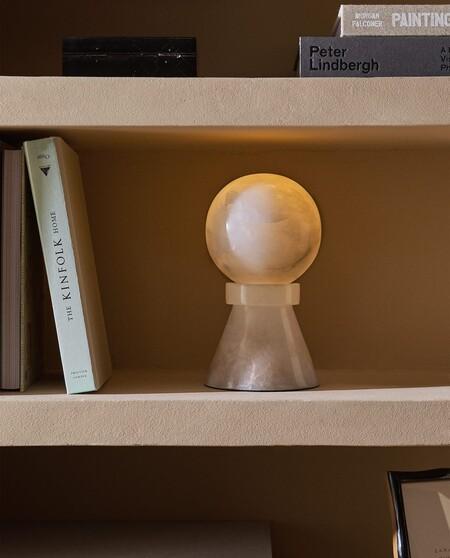 alabastro lampara zara home