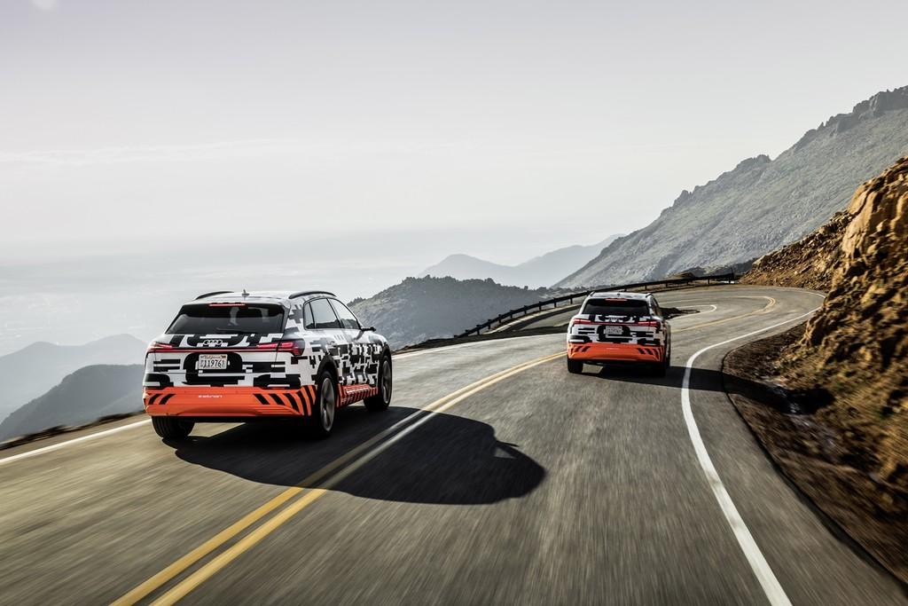 Audi E Tron Prototype Pikes Peak 7